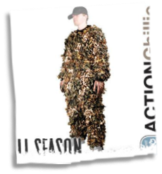 Ghillie Camoflauge