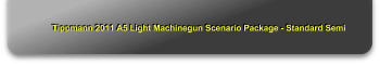 Tippmann 2011 A5 Light Machinegun Scenario Package - Standard Semi