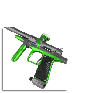 Bob Long Paintball Markers 2012 G6R - Titanium with Lime