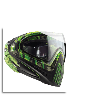 Dye i4 Paintball Goggle - Tiger Lime