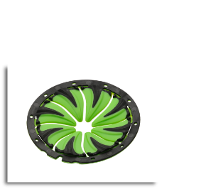Dye Rotor Speed Feed - Lime