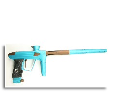DLX Luxe 2.0 Paintball Gun - Teal Dust/Brown Dust