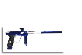 DLX Luxe 2.0 Paintball Gun - Blue/Silver