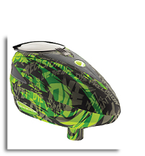 Dye Rotor Paintball Loader - Tiger Lime