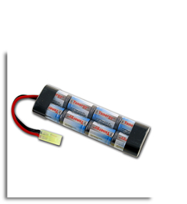 Tenergy Battery - Mini  (9.6v NiMH 1600mAh)