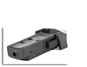 Tactical Red Laser Sight With Universal Tri-rail Barrel Mount Black