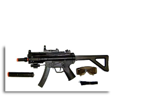 MP5 PDW Silencer Scope Spring Rifle