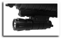 Led Flashlight Weaver Mount Pistol & Rifle