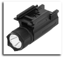 Pistol & Rifle Led Flashlight Quick Release Weaver