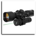 "Green Laser With 1"" inch Scope Mount Pressure Switch"