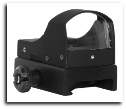Tactical Green Dot Sight With Automatic Brightness Black