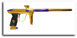 DLX Luxe 2.0 Paintball Gun - Gold/Purple