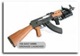 Rap4 T68 AK47 Gun 40mm Grenade Launcher Package with Marker