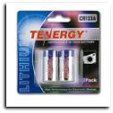 Tenergy Battery - CR123A  (3v Lithium 2 Pack)