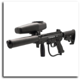 Tippmann 2011 A5 Flatline Stealth Sniper Paintball Gun Kit - Egrip w/ Selector Switch