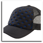 EmpireTrucker Hat Deboss Black-Adjustable