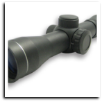2.5X30E Red ILL. Black Pistol Scope Blue Lens Ring