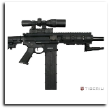 Tiberius Arms T4 First Strike Paintball Gun - Black
