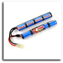 Tenergy Battery - Butterfly  (9.6v NiMH 1600mAh)
