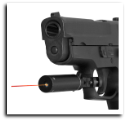 Red Laser Sight With Trigger Guard Mount Black