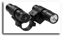 1 inch Double Rail Scope Adapter, Flaslight, Green Laser Set Combo