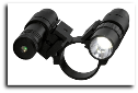 Tactical Scope Adapter, Flaslight, Green Laser Set Combo