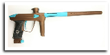 DLX Luxe 2.0 Paintball Gun - Brown Dust/Teal Dust