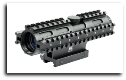 4X32 Compact Scope Blue Mil-Dot 3 Rail Sighting System