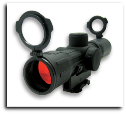 4x30E Red & Green ILL.Rubber Ar15 Scope Ruby Lens