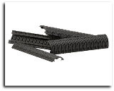 Dye Rail Cover Modular DAM 4pk - Black