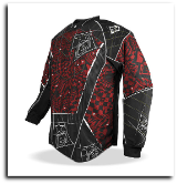 Planet Eclipse Distortion Elusion Paintball Jersey - Fire
