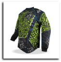 Planet Eclipse Distortion Elusion Paintball Jersey Lizzard 3XL
