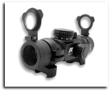 1X30 T-Style Red Dot Sight Reticals Weaver Rings