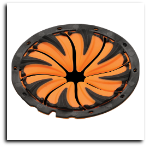 Dye Rotor Speed Feed Orange