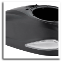 Rotor High Capacity Top Shell - Black