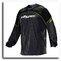 2013 Dye UL Paintball Jersey Lime M-L