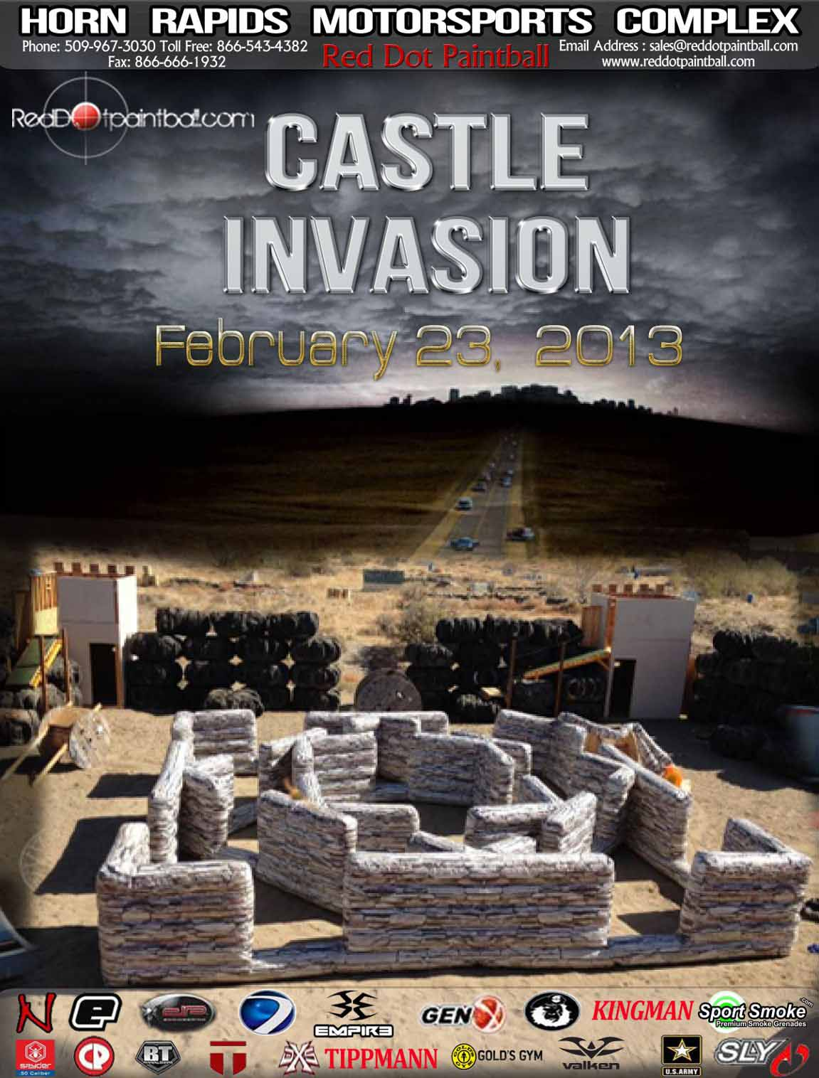 Castle Conquest at Red Dot Paintball