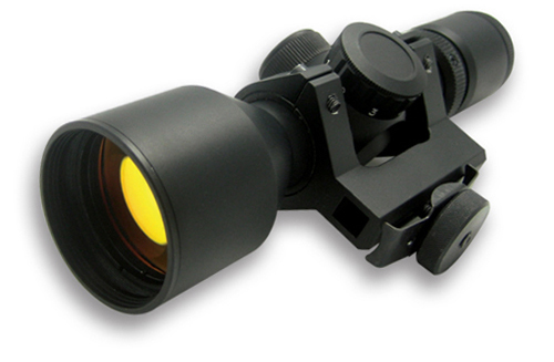 3 9x42e Red Ill Ar15 Scope Carry Handle Mount Ruby Lens