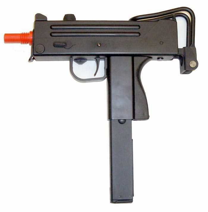 well mac11 g11 gas airsoft machine gun